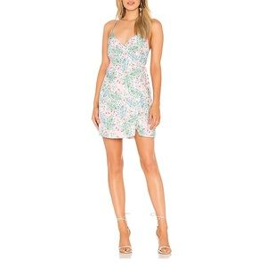 NEW Majorelle Nina Dress in Pink Tropical XS